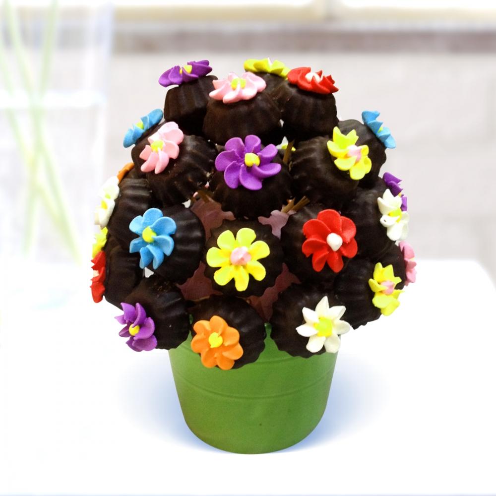 Çiçekli Kurabiyeler