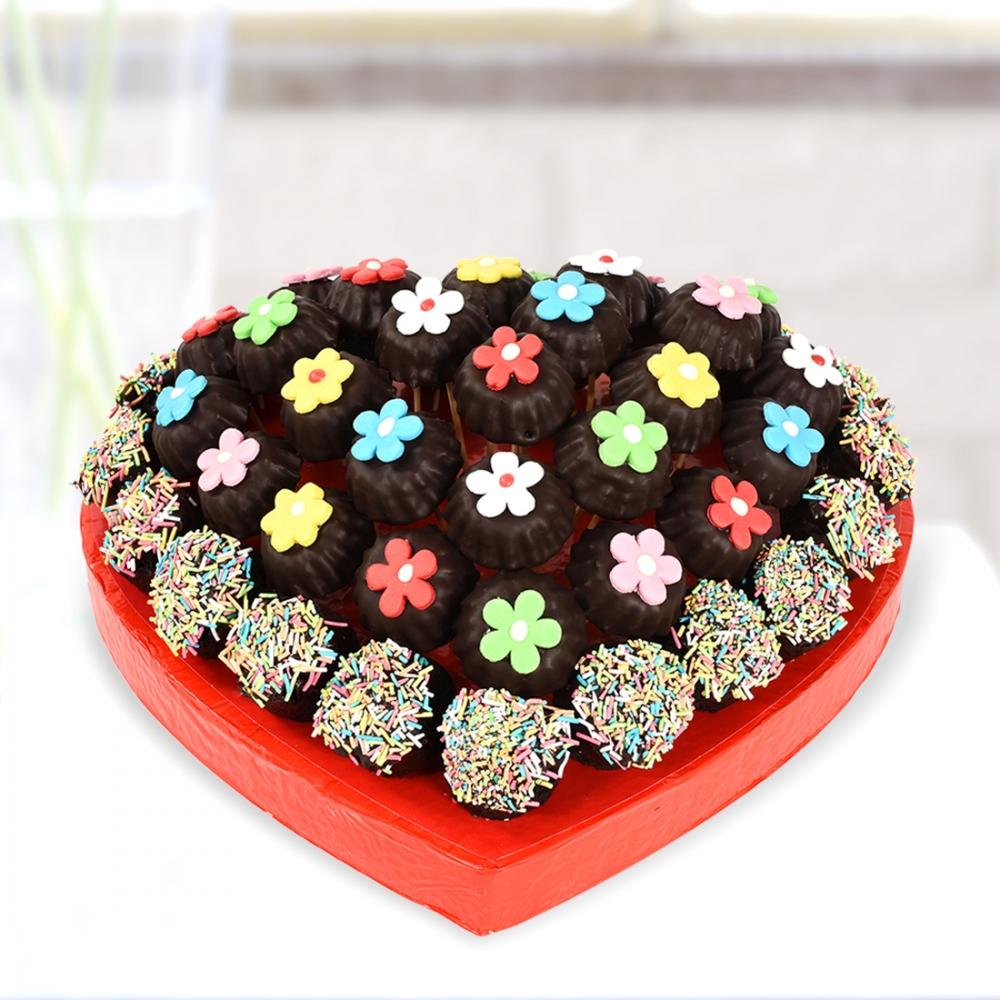 Kek Kurabiye Çiçekleri