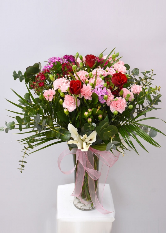 Renkli Çiçek Tasarımı