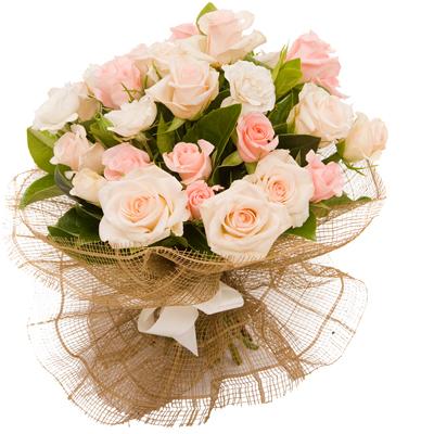 Yavruağzı 21 Gül Çiçek Buketi