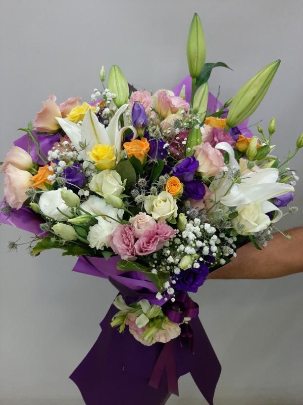 Söz Nişan Çiçeği Buketi izmir