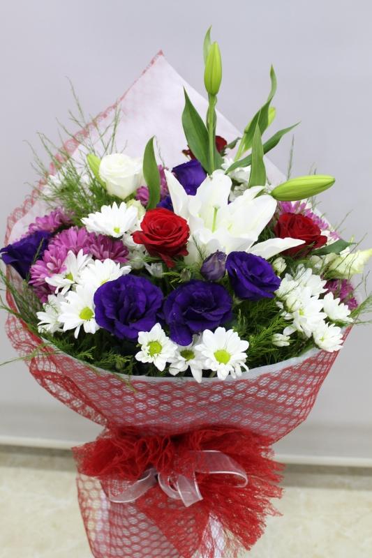 Çiçek Buketi Tasarımı