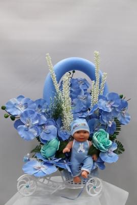 Erkek Bebek İçin Yapay Çiçek