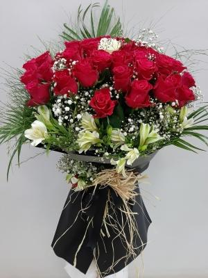 Özel İsteme Söz Nişan Çiçeği Buketi İzmir