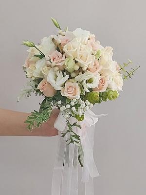 Pembe Beyaz Gelin Çiçeği