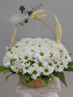 Çiçekse Papatya Sepeti